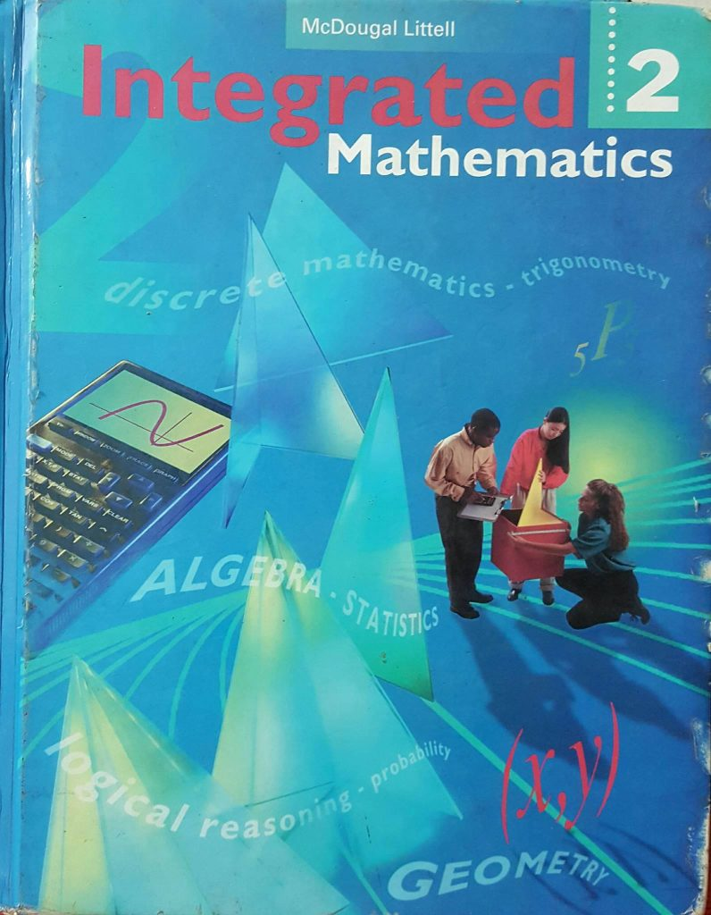 Intergrated Mathematics 2 NXB McDougal  Littell