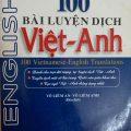 100 bài luyện dịch Việt – Anh, Võ Liêm An, Võ Liêm Anh