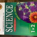 A complete guide to science secondary 1-2 with mind chart, fairfield book publishers