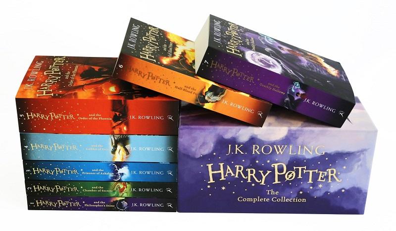 Trọn Bộ truyện Harry Potter Tiếng Anh ( 7 cuốn) Bloomsbury
