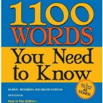 Barron's 1100 Words You Need to Know – 6th Edition