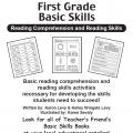 Basic Skills Reading Comprehension and Reading Skills (Grades 1-5) | Sách dạy đọc hiểu và kỹ năng viết cho học sinh cấp 1