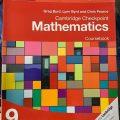 Cambridge Checkpoint Mathematics 9 Coursebook, Greg Byrd, Lynn Byrd, Chris Pearce
