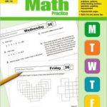 Giáo trình học toán tiếng Anh của Mỹ Daily Math Practice 1 2 3 4 5 6  by Evan-Moor