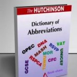 Dictionary of Abbreviations (Hutchinson dictionaries)