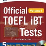 ETS Official Toefl ibt Tests with Audio Volume 1 and 2