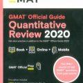 GMAT Official Guide 2020 Quantitative Review Book + Online Question Bank by GMAC (Graduate Management Admission Council )