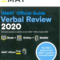 GMAT official Verbal Review 2020, Gmat Official Prep
