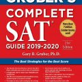 Gruber's Complete SAT guide 2019 – 2020 by Gary R. Gruber, the best strategies for the best score