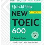 Just before the exam (QuickPrep new toeic 600) Volume 1 & 2 | for the revised test format 2019 in Vietnam