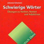 Sách học từ vựng tiếng Đức Schwierige Woerter