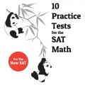 The college panda 10 practice tests for the new SAT Math by Nielson Phu