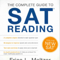 The complete guide to Sat reading, the critical reader by Erica L. Meltzer, author of the Ultimate guide to Sat grammar 3rd edition