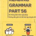 Toeic: Reading Grammar Part 56, Hệ thống kiến thức ngữ pháp, hướng dẫn giải chi tiết bài tập chuyên đề