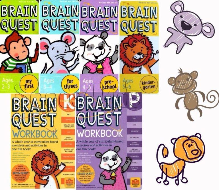 ebook BrainQuest – Bộ sách tiếng anh tuyệt vời giúp trẻ phát triển tốt trí não