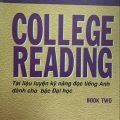 College reading, tài liệu luyện kỹ năng đọc tiếng anh dành cho bậc Đại Học (Trương Quang Phú)