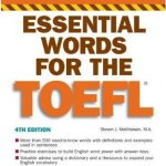 Barron's Essential Words for the Toefl 4th Edition