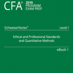 Cfa 2019 Level 1 SchweserNote book 1, book 2, book 3, book 4, book 5