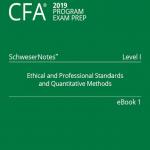 Cfa 2019 Level 1 SchweserNote book 1, book 2, book 3, book 4, book 5