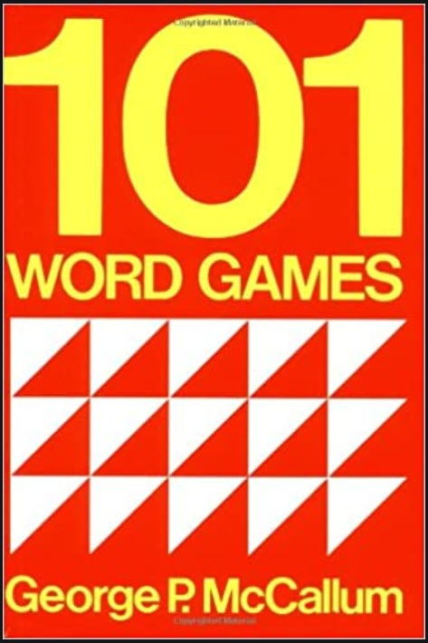 101 word games for students of English as a Second or Foreign Language by George P. McCallum, Oxford