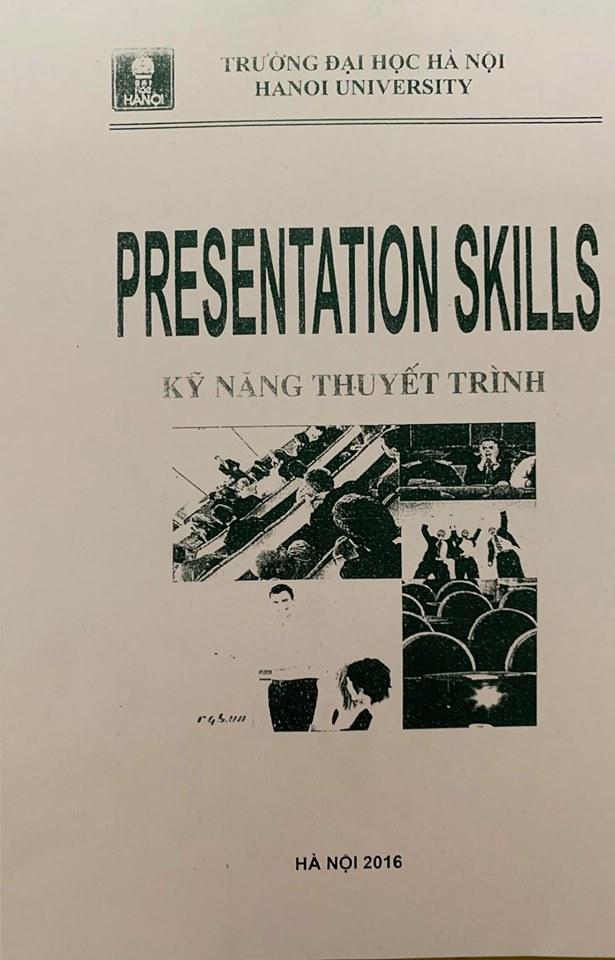 Presentation Skills in English, Kỹ năng thuyết trình bằng tiếng Anh, Hanoi University