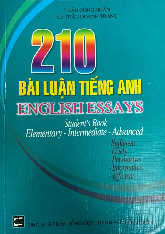 210 Bài luận Tiếng anh, Trần Công Nhàn, Lê Trần Doanh Trang