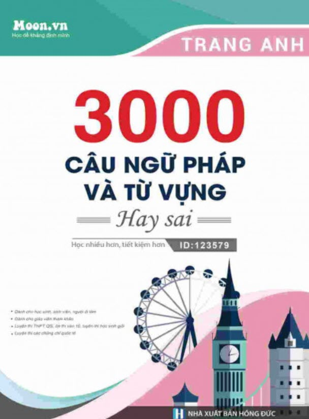 3000 câu ngữ pháp và từ vựng hay sai, Trang Anh
