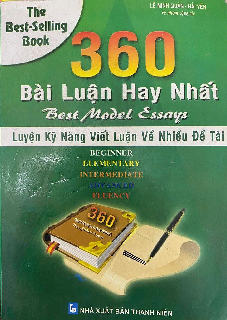 360 bài luận hay nhất, luyện kỹ năng viết luận nhiều đề tài, Lê Minh Quân, Hải Yến
