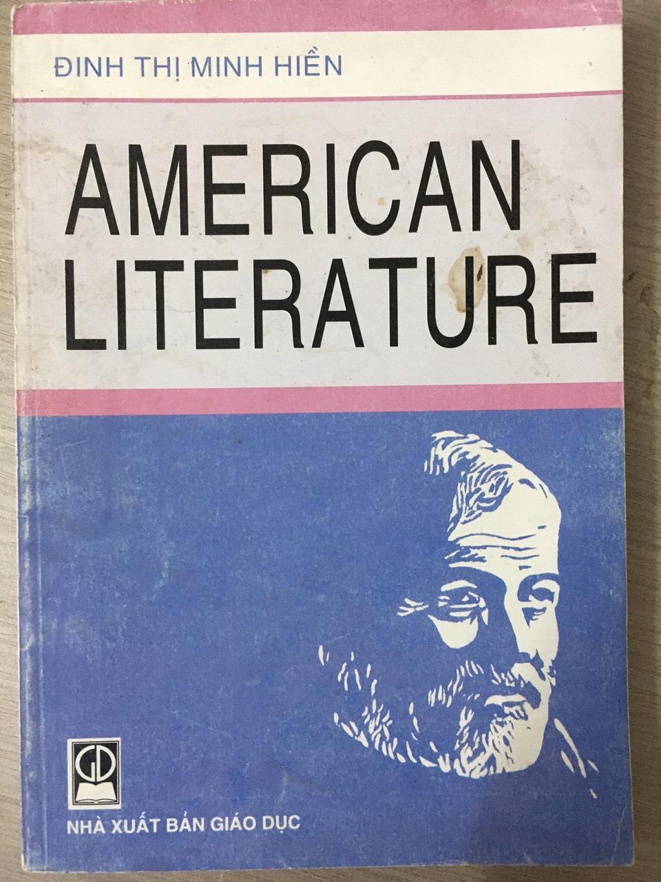 American Literature (Đinh Thị Minh Hiền) | NXB Giáo Dục