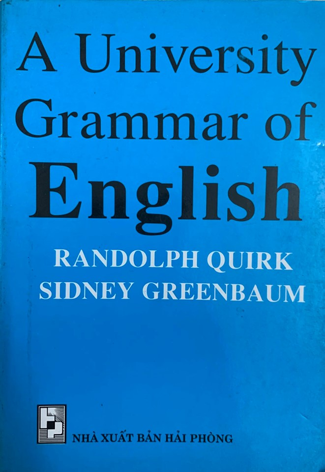 A University Grammar of English by randolph Quirk Sidney GreenBaum