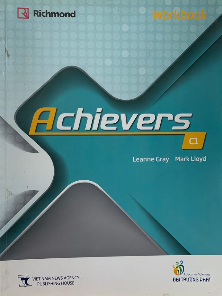 Achievers C1 Workbook Richmond | Leanne Gray, Mark Lloyd | with workbook Audio CD1+2