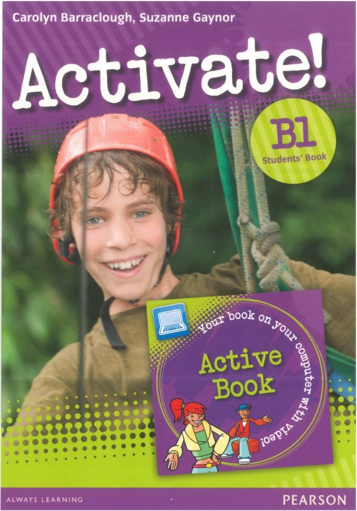 Activate! B1, Student's book, Carolyn Barraclough, Suzanne Gaynor, Pearson Longman