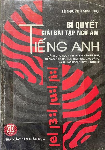 Bí quyết giải bài tập ngữ âm tiếng Anh, Lê Nguyễn Minh Thọ