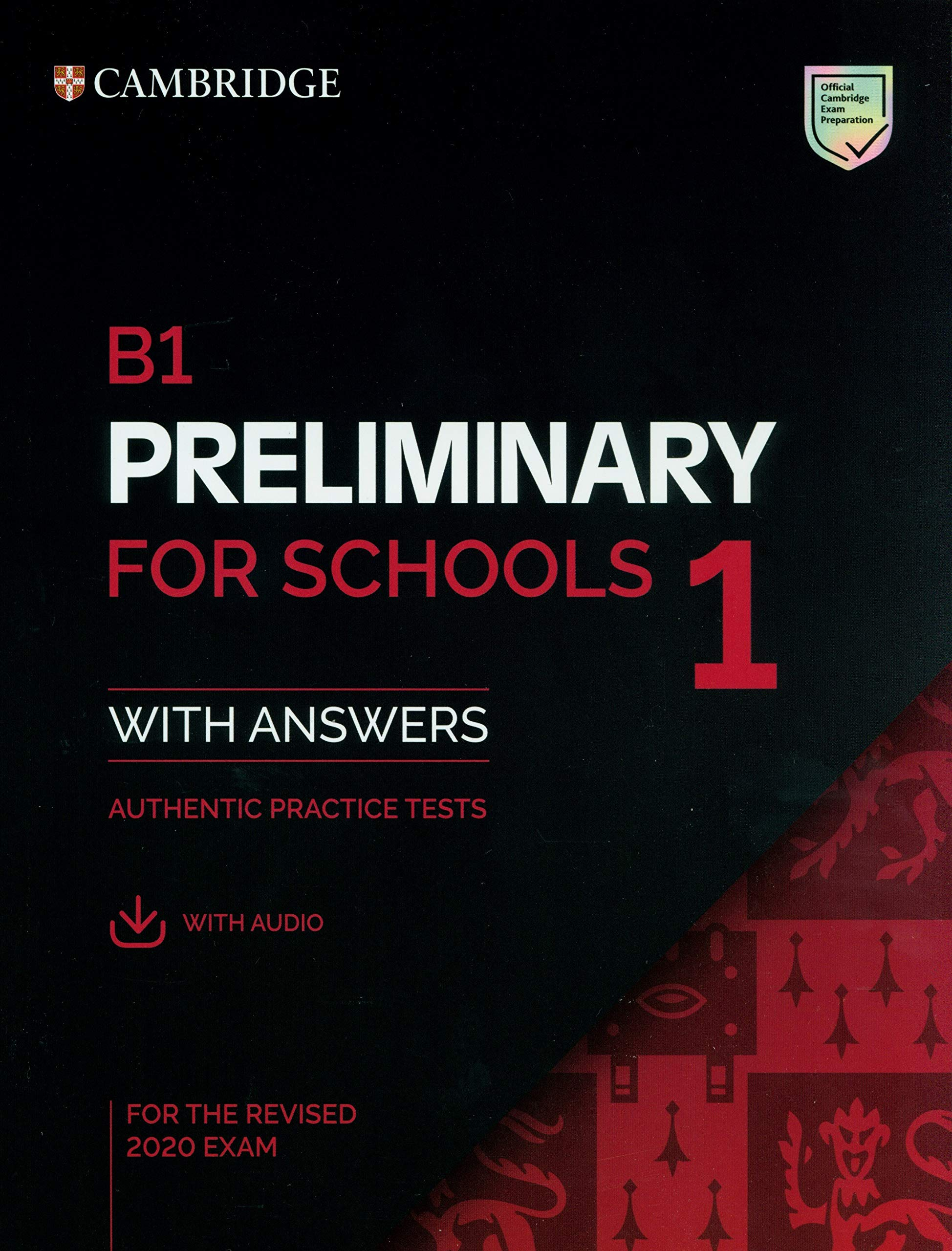 Cambridge B1 Preliminary for school 1 for the revised 2020 exam (PET for school 2020)