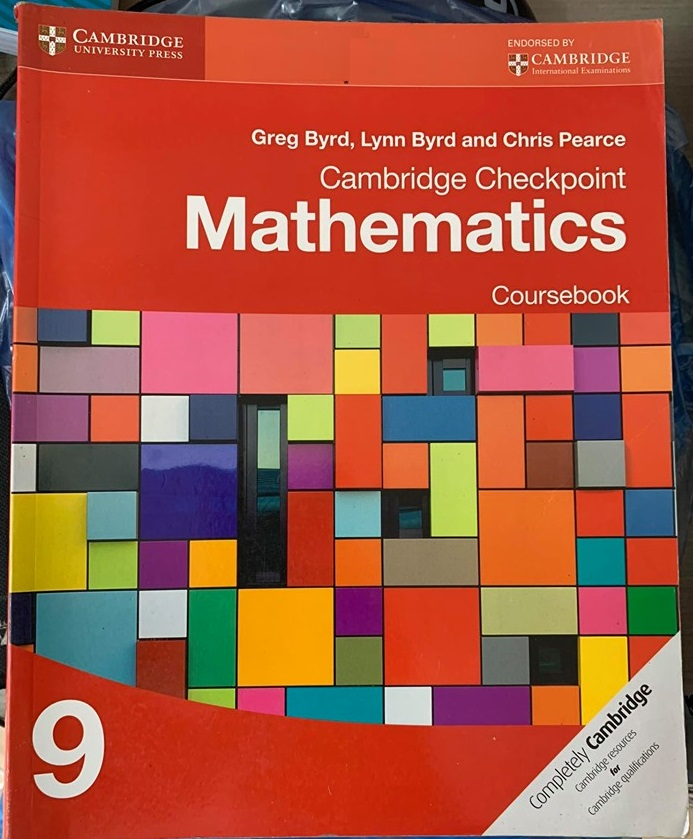 Cambridge Checkpoint Mathematics 9 Coursebook, Greg Byrd, Lynn Byrd, Chris Pearce