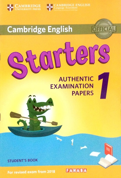 Cambridge English Starters 1 For Revised Exam From 2018 Student's