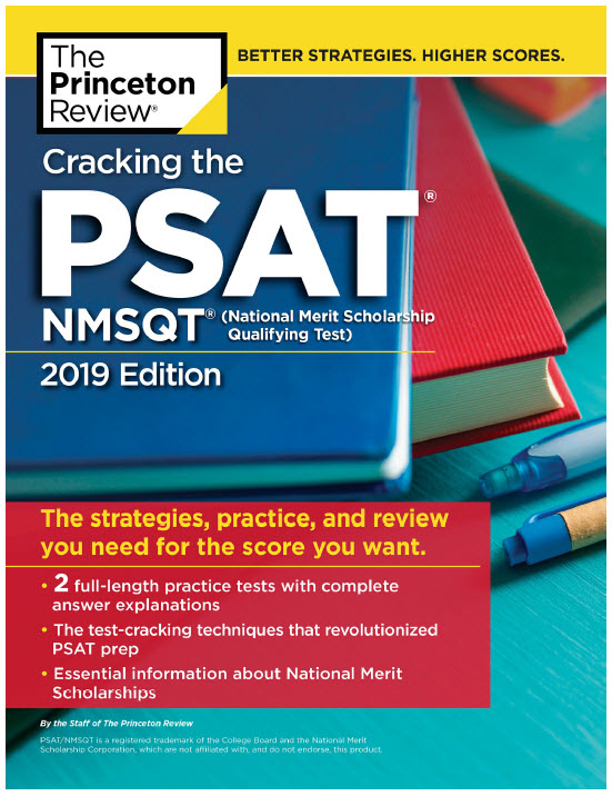 Cracking the PSAT and NMSQT 2019 | The Princeton Review