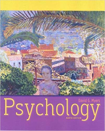 David Myers's Psychology textbook (910 pages)