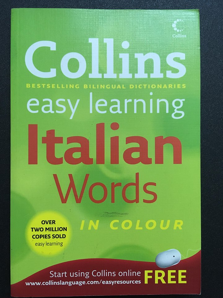 Easy learning Italian Words in colour - Collins