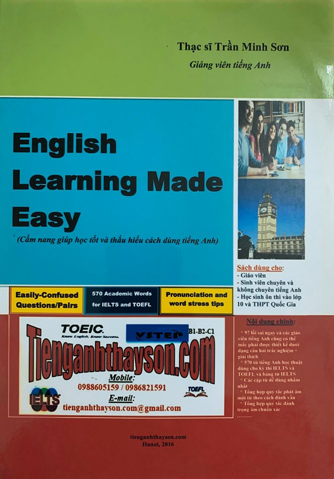 English Learning Made Easy - Trần Minh sơn