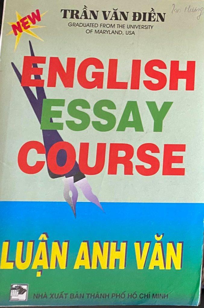 English essay course, Luận Anh Văn, Trần Văn Điền