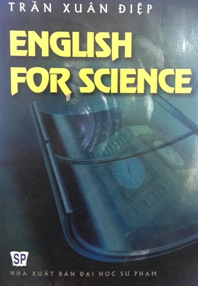 English for Science (tiếng anh cho các môn khoa học), Trần Xuân Điệp