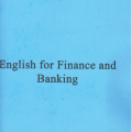 English for finance and banking, Nguyen Xuan Thom