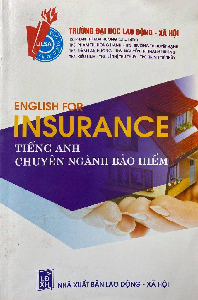 English for insurance, tiếng Anh chuyên ngành bảo hiểm