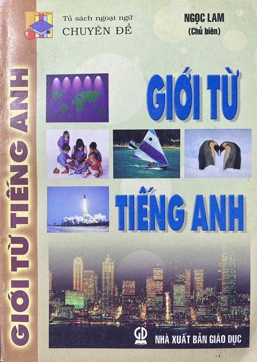 Giới từ tiếng Anh, tủ sách ngoại ngữ chuyên đề, Ngọc Lam