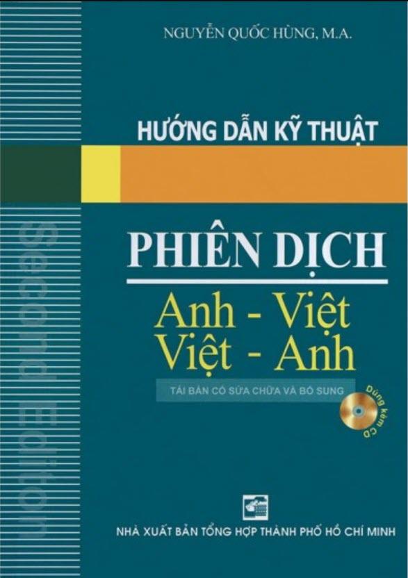 Đĩa nghe mp3 cuốn Hướng dẫn kỹ thuật Phiên dịch Anh Việt - Việt Anh