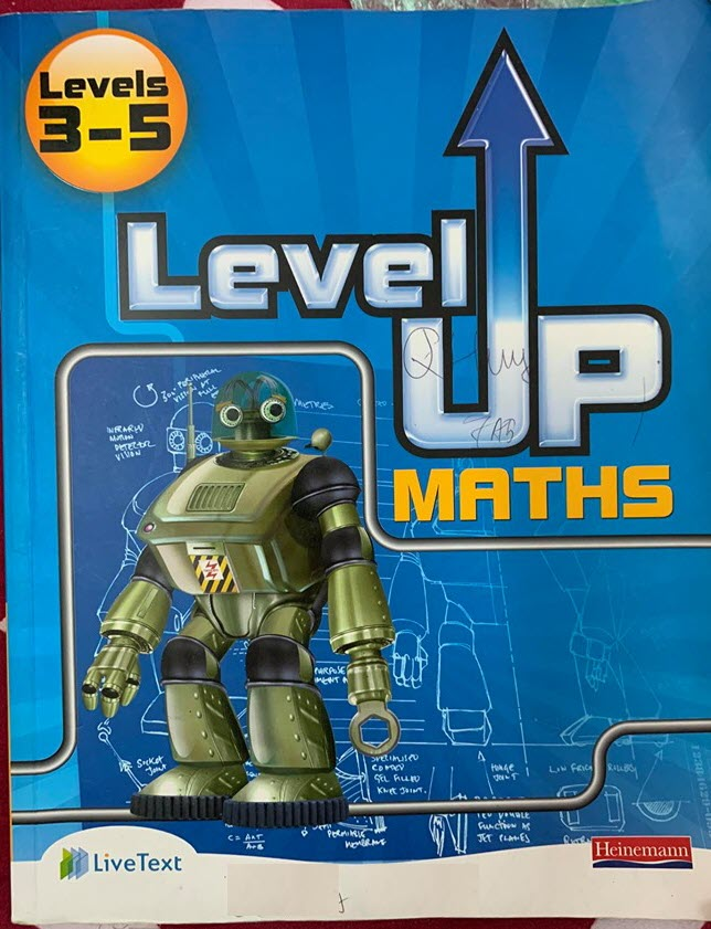 Heinemann Level Up Maths, Level 3-5