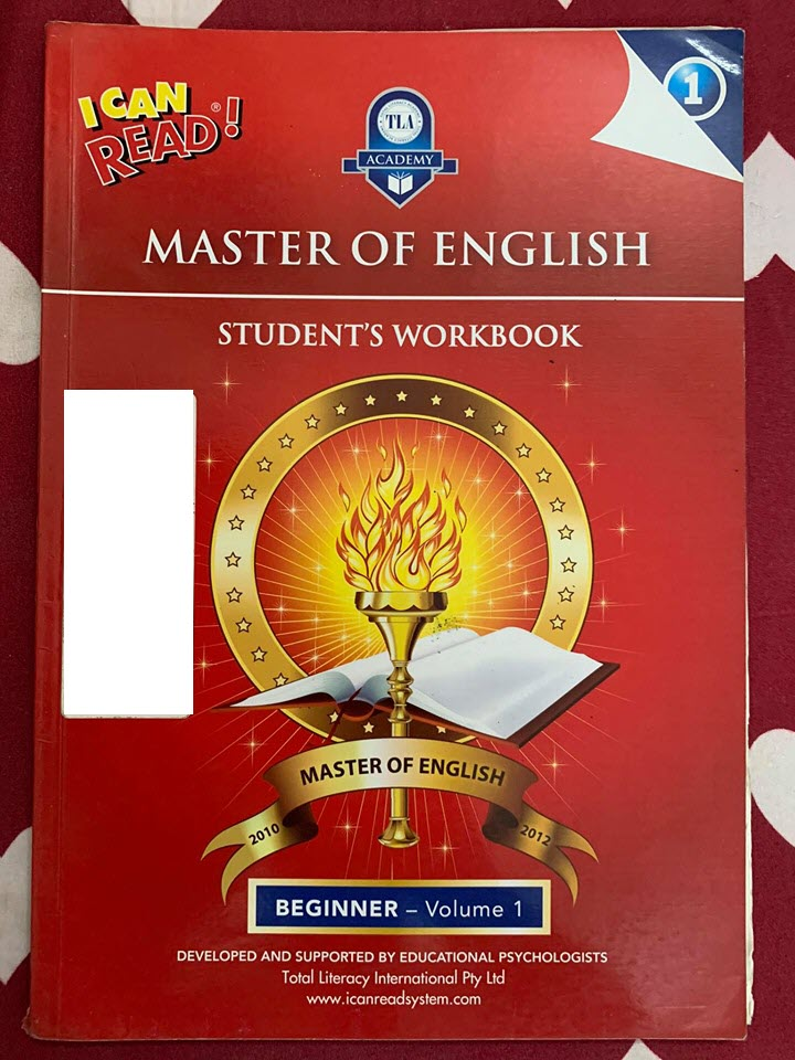I can read, Master of English Beginner Volume 1