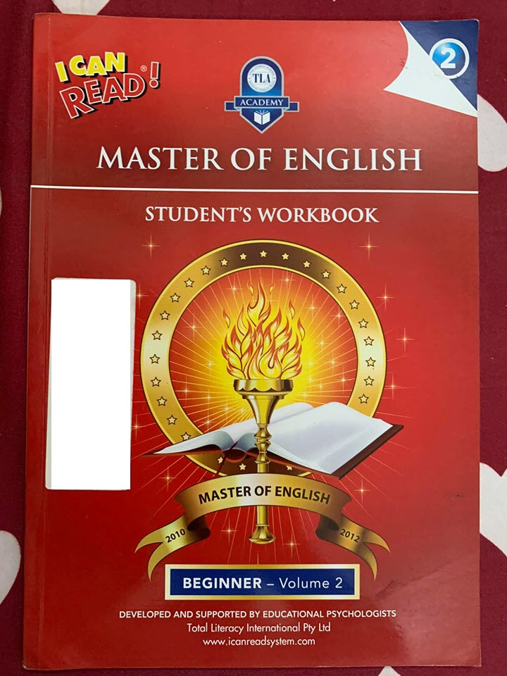 I can read, Master of English Beginner Volume 2