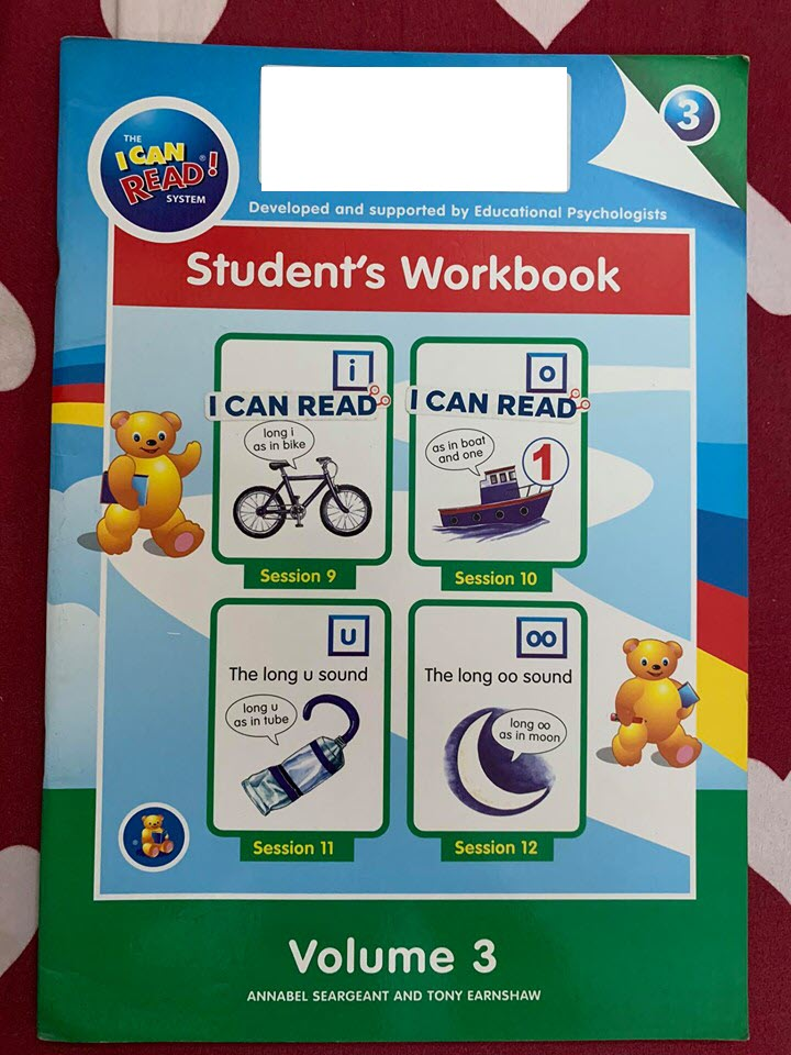 I can read Student's workbook, volume 3 by Annabel Seargeant, Tony Earnshaw
